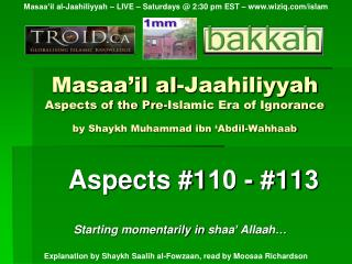 Aspects #1 10  - #11 3