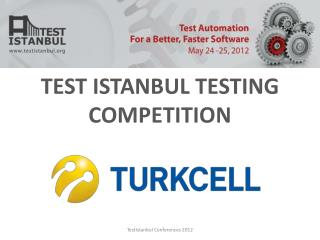 TEST ISTANBUL TESTING COMPETITION