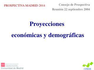 PROSPECTIVA MADRID 2014