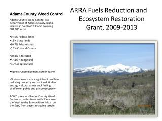 Adams County Weed Control
