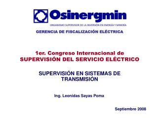 SUPERVISIÓN EN SISTEMAS DE TRANSMISIÓN