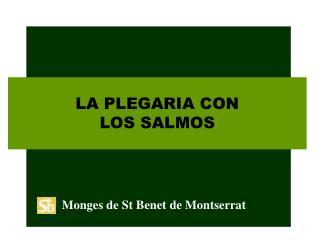 LA PLEGARIA CON LOS SALMOS
