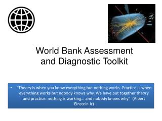 World Bank Assessment and Diagnostic  Toolkit