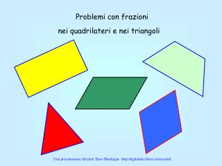 Problemi con frazioni