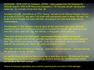 Tornado Delaware ANG