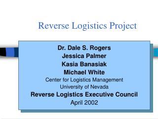 Reverse Logistics Project
