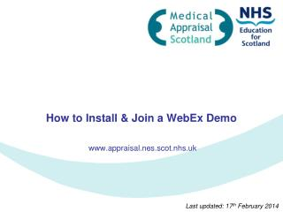How to Install & Join a WebEx Demo