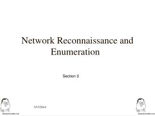 Network Reconnaissance and Enumeration