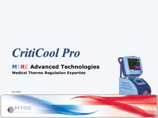 M T R E  Advanced Technologies Medical Thermo Regulation Expertise