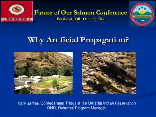 Future of Our Salmon Conference  Portland, OR  Oct 17, 2012
