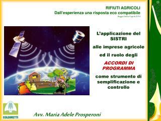 Avv. Maria Adele Prosperoni
