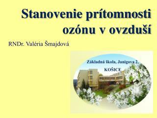 Základná škola, Janigova 2, KOŠICE