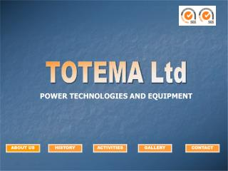 POWER TECHNOLOGIES AND EQUIPMENT