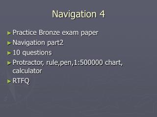 Navigation 4