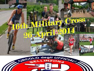 16th Military Cross  26 April 2014