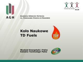 Koło Naukowe TD  Fuels