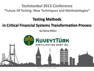 TestIstanbul Conferences 2013