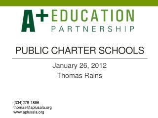 Public Charter schools