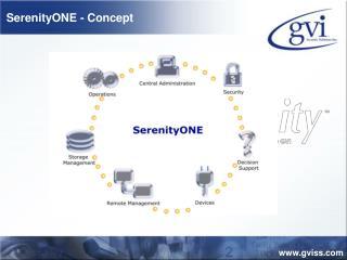 SerenityONE - Concept