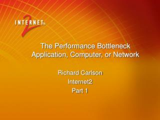 The Performance Bottleneck