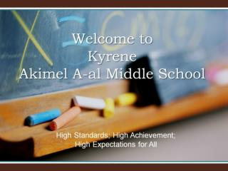 Welcome to Kyrene Akimel A-al Middle School