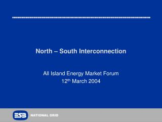 North – South Interconnection