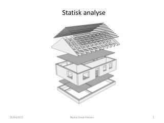 Statisk  analyse