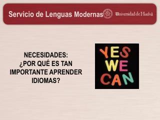 Servicio de Lenguas  Modernas