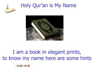 I am a book in elegant prints, to know my name here are some hints