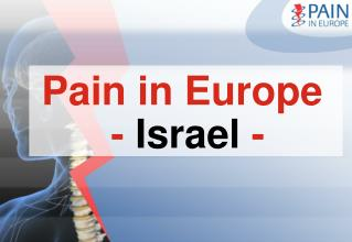 Pain in Europe  -  Israel -