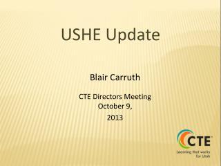 USHE Update