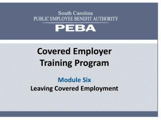 South Carolina Retirement Systems
