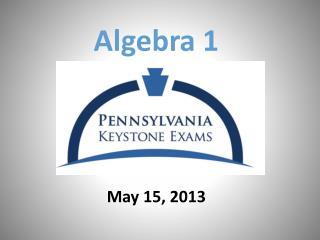 May 15, 2013
