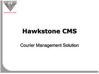 Hawkstone CMS
