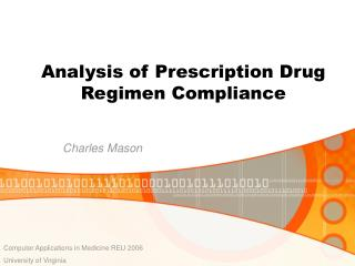 Analysis of Prescription Drug Regimen Compliance
