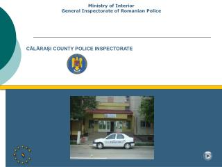CĂLĂRAŞI COUNTY POLICE INSPECTORATE