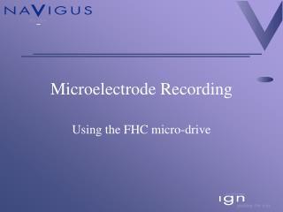 Microelectrode Recording