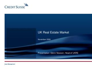 UK Real Estate Market