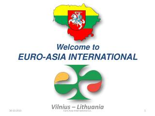 Welcome to EURO-ASIA INTERNATIONAL