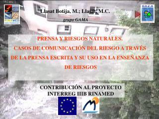 PRENSA Y RIESGOS NATURALES.  CASOS DE COMUNICACIÓN DEL RIESGO A TRAVÉS