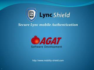 Secure Lync mobile Authentication