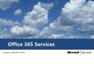 Office 365 Services