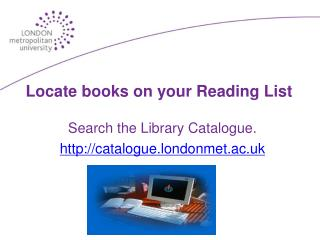 Locate books on your Reading List