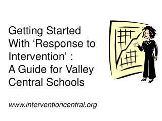 What  is �Response to Intervention� (RTI)?