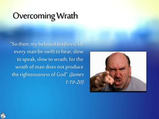 Overcoming Wrath