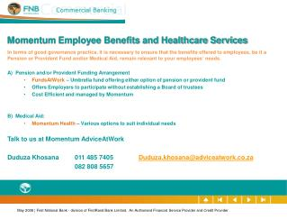 Momentum Employee Benefits and Healthcare Services