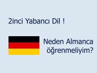 2 inci Yabancı Dil !