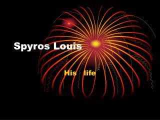 Spyros Louis
