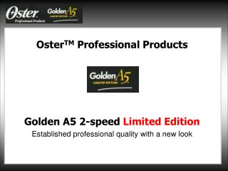 Oster TM Professional Products