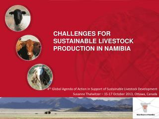 4 th  Global Agenda of Action in Support of Sustainable Livestock Development